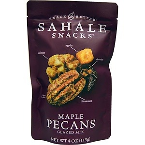 iHerb香港必買推介 - Sahale Snacks, 楓木山核桃